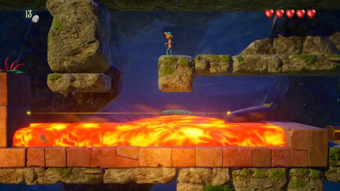 Captain Sabertooth and the Magic Diamond Nintendo Switch Gameplay Screenshot