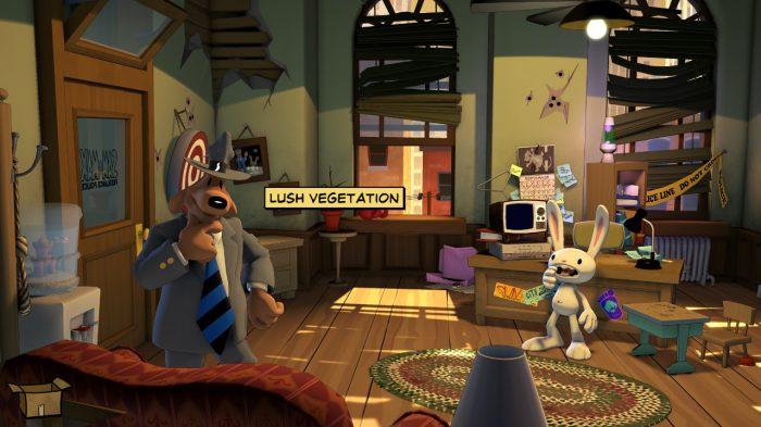 Sam and Max Save The World Nintendo Switch Gameplay Screenshot