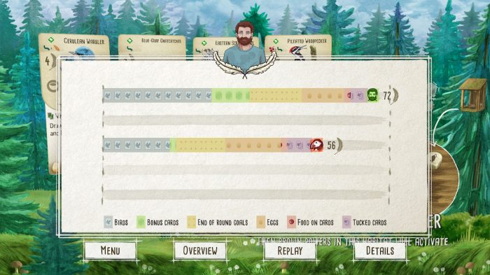 Wingspan Nintendo Switch Gameplay Screenshot