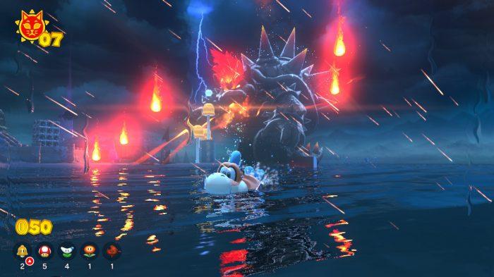 Super Mario 3D World Nintendo Switch Gameplay Screenshot
