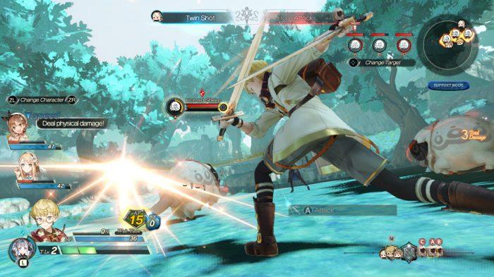 Atelier Ryza 2: Lost Legends & the Secret Fairy Nintendo Switch Gameplay Screenshot