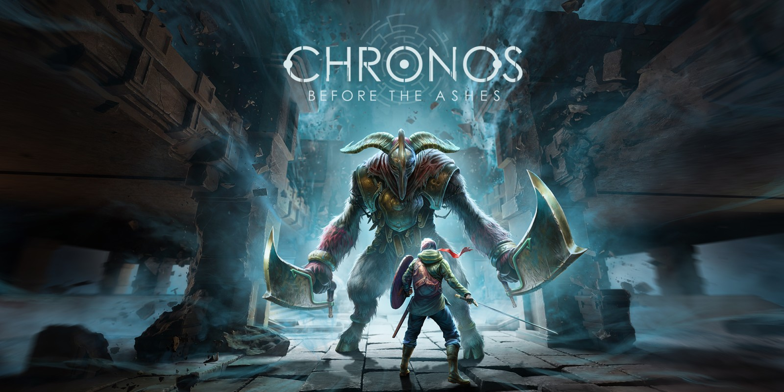 Chronos: Before the Ashes Nintendo Switch Title Screen