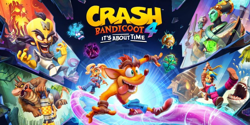 Crash Bandicoot 4: It's About Time Key Art