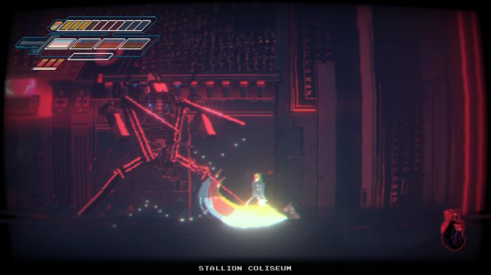 Narita Boy Nintendo Switch Gameplay Screenshot