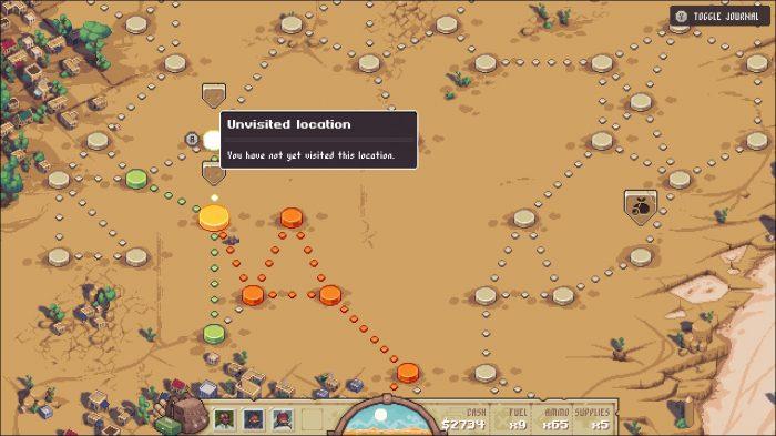 Pathway Nintendo Switch Gameplay Screenshot