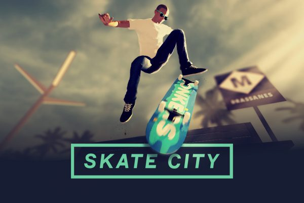 Skate City Nintendo Switch Key Art