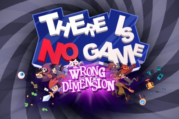 There is No Game: Wrong Dimension Nintendo Switch Title Art