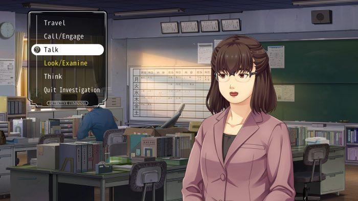Nintendo Switch Famicon Detective Club Gameplay Screenshot
