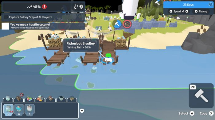 The Colonists Nintendo Switch Gameplay Screenshot