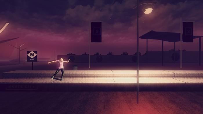 Skate City Nintendo Switch Gameplay Screenshot