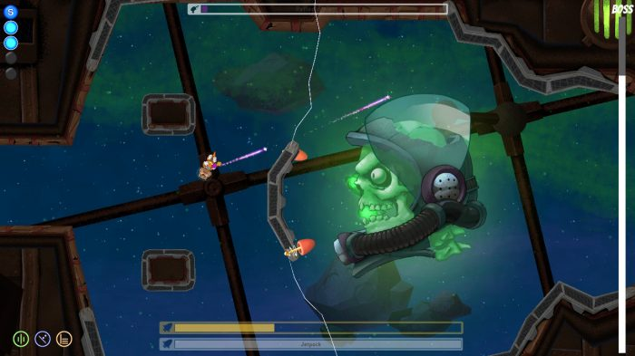 Space Otter Charlie Nintendo Switch Gameplay Screenshot