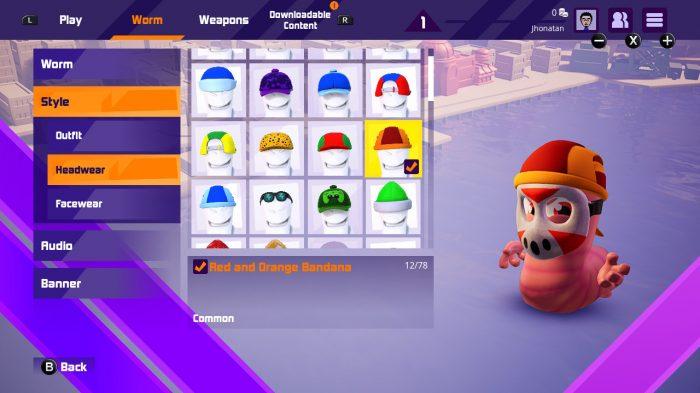 Worms Rumble Nintendo Switch Gameplay Screenshot