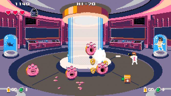 Donuts'n'Justice Nintendo Switch Gameplay Screenshot