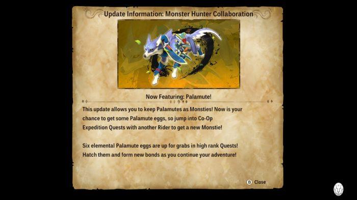 Monster Hunter Stories 2: Wings of Ruin Nintendo Switch Gameplay Screenshot