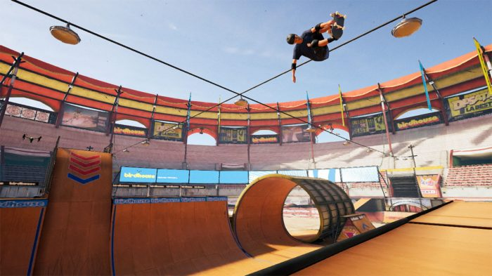 Tony Hawk's Pro Skater 1 + 2 Nintendo Switch Gameplay Screenshot