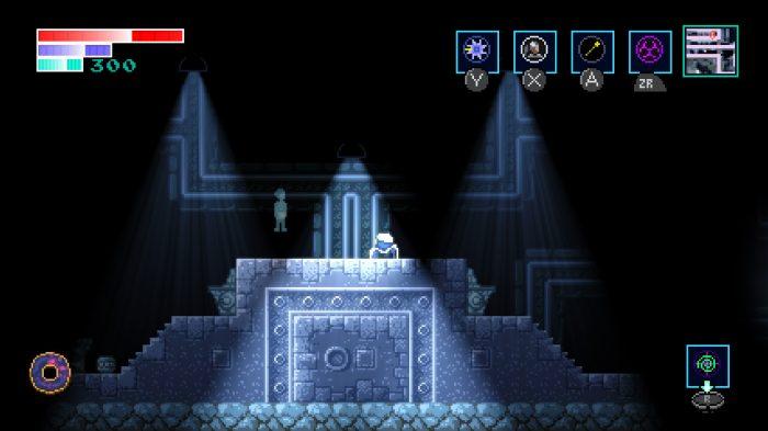 Axiom Verge atmosphere screenshot