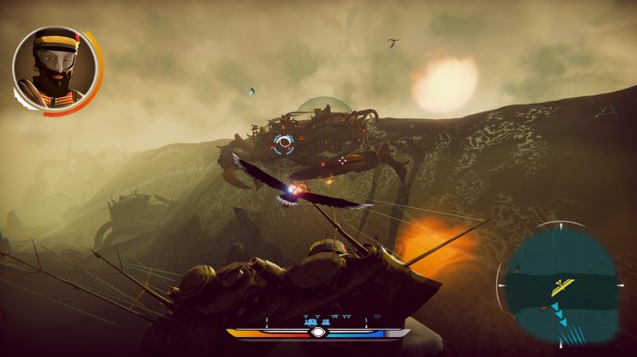 The Falconeer: Warrior Edition Nintendo Switch Gameplay Screenshot