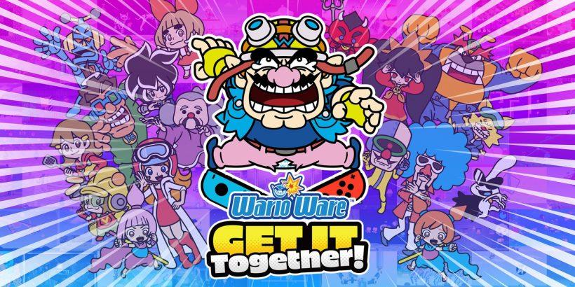WarioWare: Get it Together! Key Art