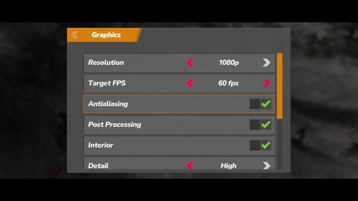 Rush Rally Origins Nintendo Switch Gameplay Screenshot