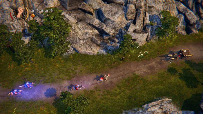 Rustler Nintendo Switch Gameplay Screenshot