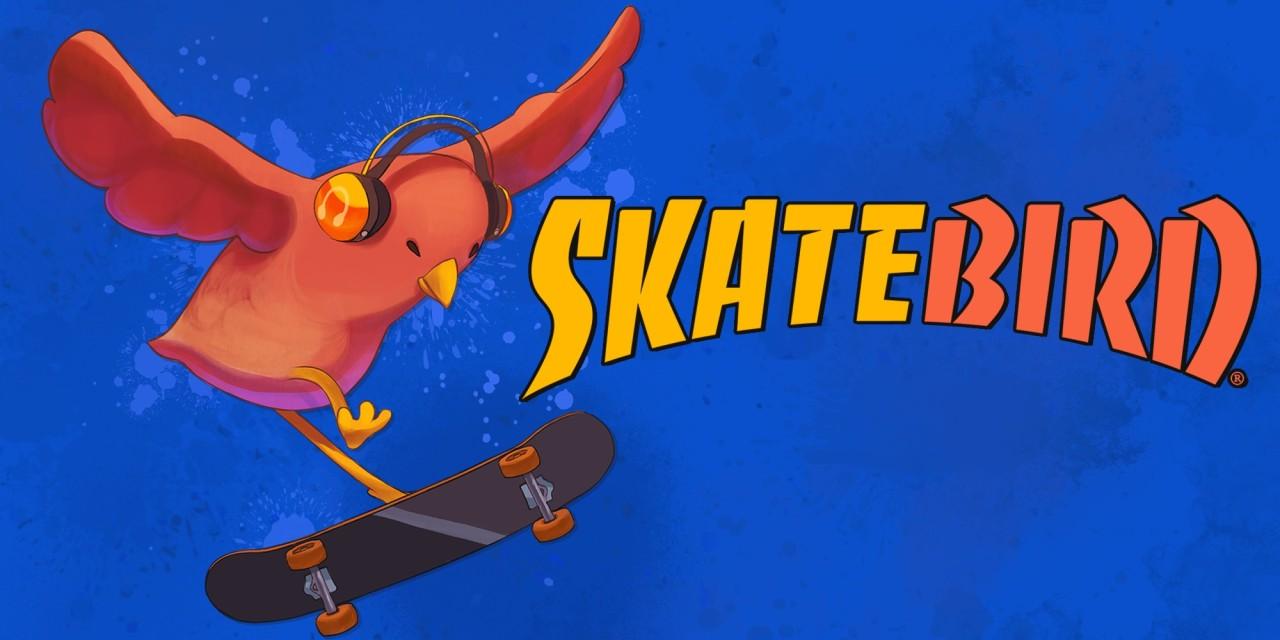 SkateBIRD Nintendo Switch Title Art