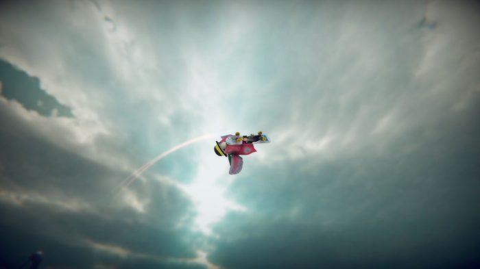 SkateBIRD Nintendo Switch Gameplay Screenshot